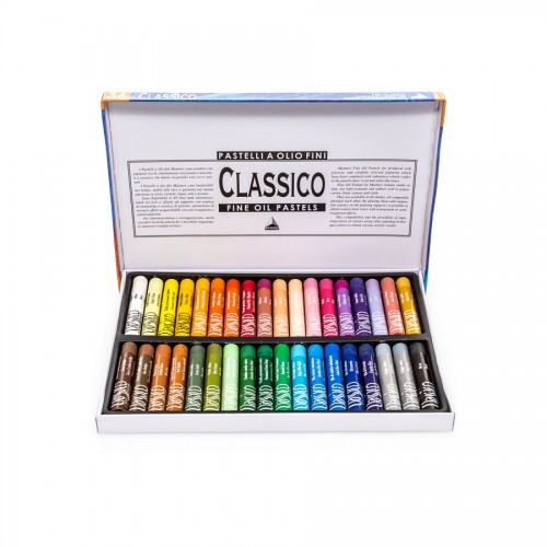 Sets Of Oil Pastels Maimeri , 36 Pcs
