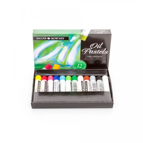 "Sets Of Oil Pastels ""Daler-Rowney"", 12 Pcs"