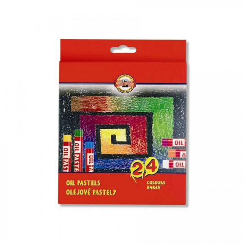 Sets Of Oil  Pastels 24Pcs, Koh-I-Noor