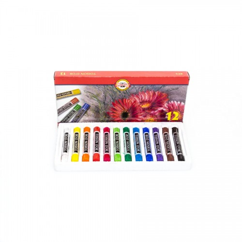 Sets Of Soft Pastels Koh-I-Noor, 12Pcs
