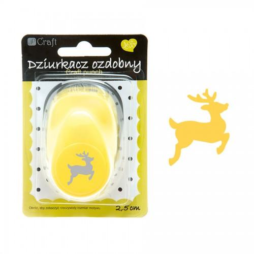 Craft punch 2,5 cm, Reindeer