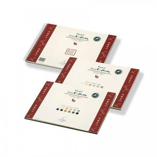 Pastel Pads Lanacolours 160Gms, 45% Cotton 2X12Col