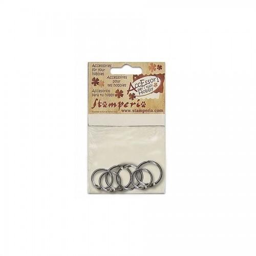 6 Packed Metal  Rings