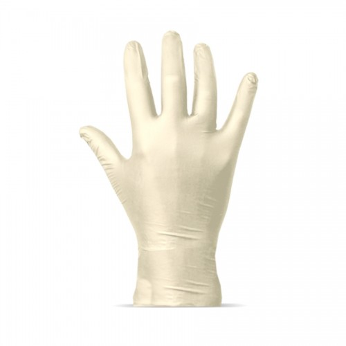 Latex-Glove, Solvent Proof, Size L (1 pcs)