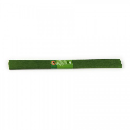 Crepe Paper 2000X500 Mm Green Olive