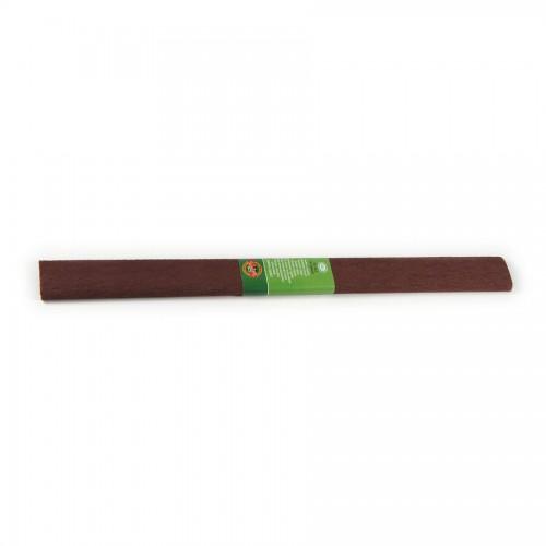 Crepe Paper 2000X500 Mm Brown Dark