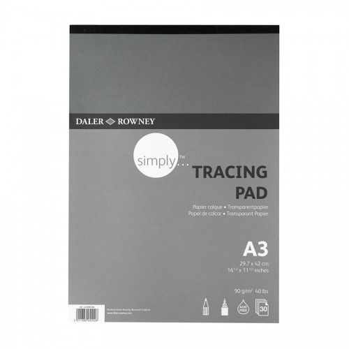 Tracing Pad A3 90Gr 30Sht, Daler-Rowney