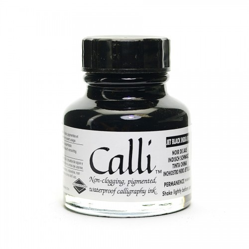 Calligraphy Ink Calli Jetblack 29,5Ml,Daler-Rowney