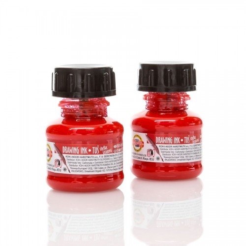 Indian Ink, Red 20 Ml Koh-I-Noor
