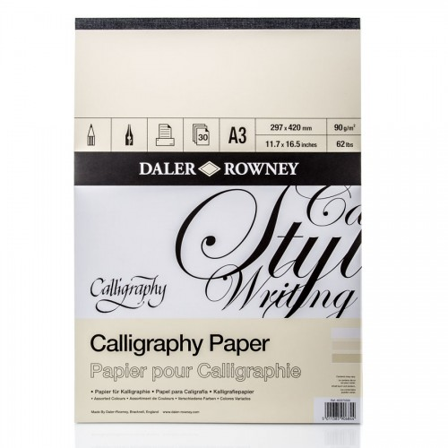 "Calligraphy Pad A3 ""Daler-Rowney"""