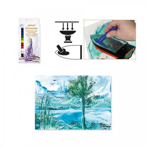 Enkaustic Set Of Paints/Colours 'Artistica'   14 P