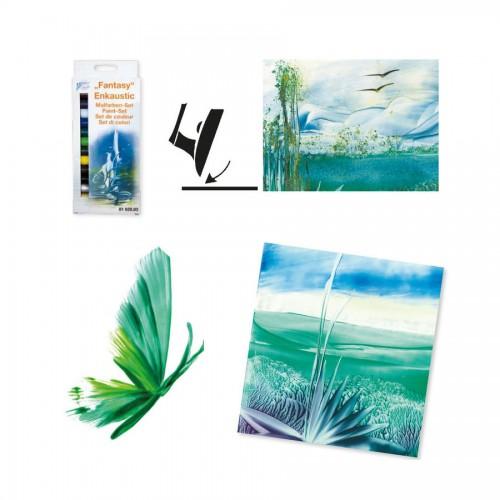 Enkaustic Set Of Paints/Colours