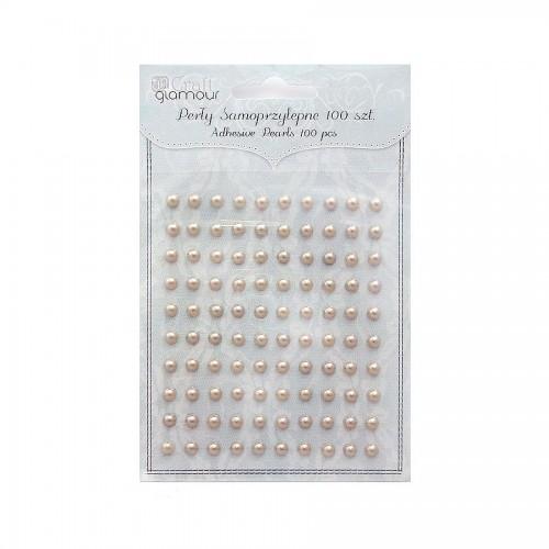 Adhesive  Pearls 100Ps
