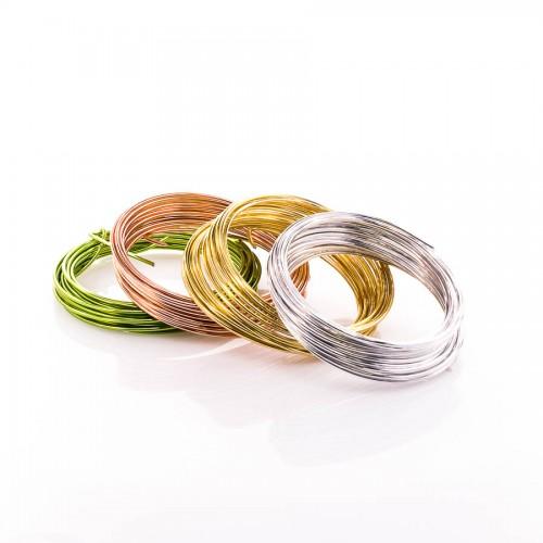 Aluminium wire Folia 2 mm x5 m