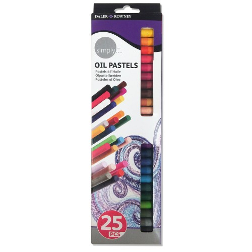 Simply Oil Pastels 25