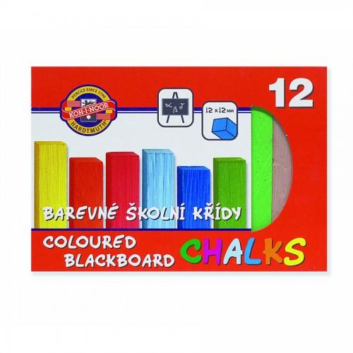 Set of colour chalk  12pcs