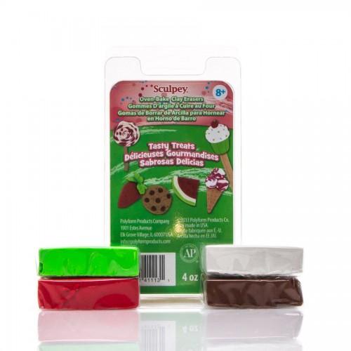 Eraser Clay Set - Tasty Treats