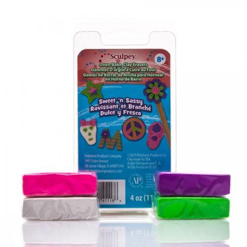 Eraser Clay Set - Sweet 'N Sassy