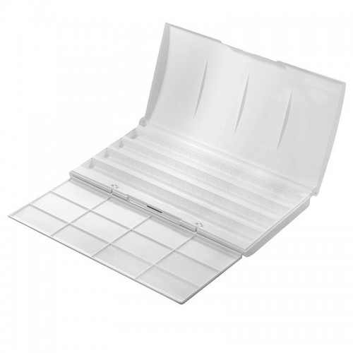 Plastic Box for WaterColour Sets, 24pcs