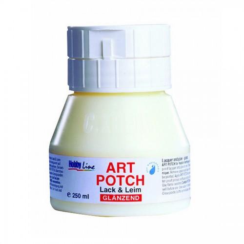 Lacquer + Glue 250M, Glossy, Art Potch, C.Kreul