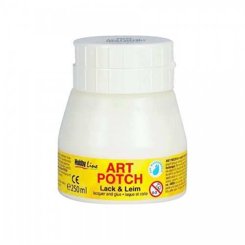 Lacquer + Glue 250Ml, Matt, Art Potch, C.Kreul