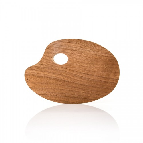 Wooden Palette Ellipse 20X30X0.3