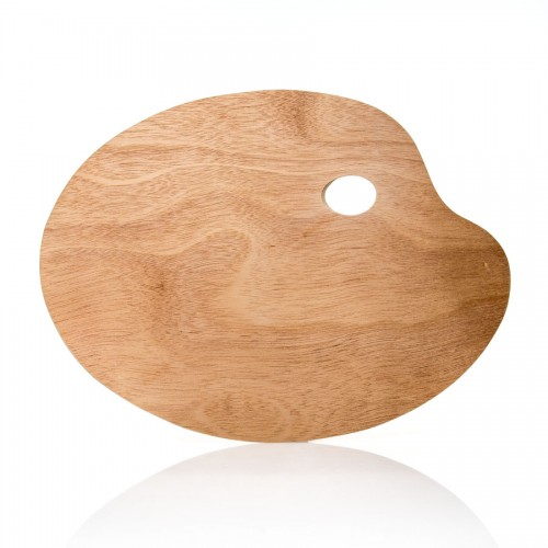 Wooden Palette Ellipse 30X40X0.3