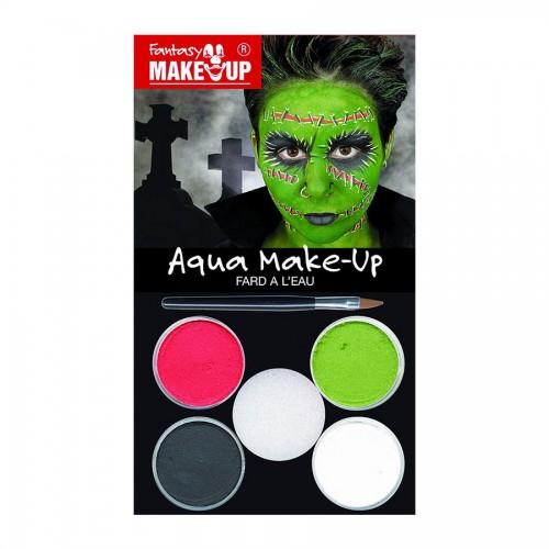 Make UP, HALLOWEEN, Aqua Makeup