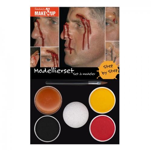 Make UP, HALLOWEEN, Aqua Makeup+Modellierwax