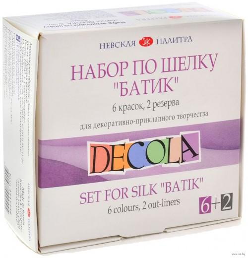 """""""Decola"""" set  6x50ml silk"""