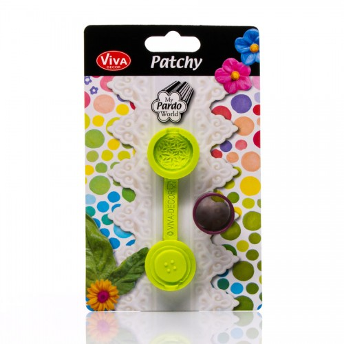 Patchy Button Middle With Puncher 629146