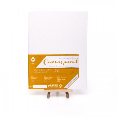 Primed canvas boards (cotton)