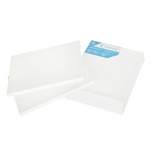 Primed canvas cotton with stretcher, 1,8 x 3,8 cm