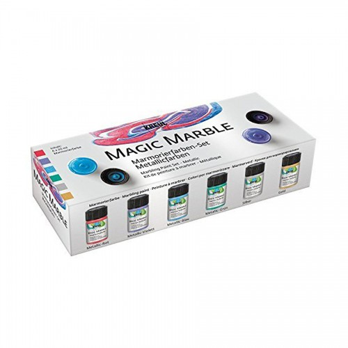 Magic Marble Set 6 Metallic Colors, C.Kreul