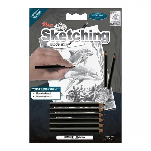 Sketching Dolphins