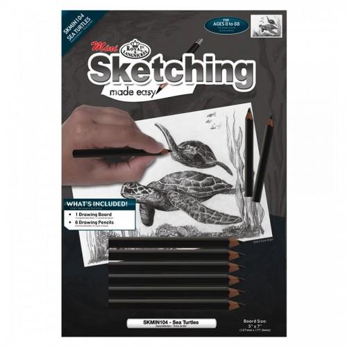 Sketching Sea Hturtles