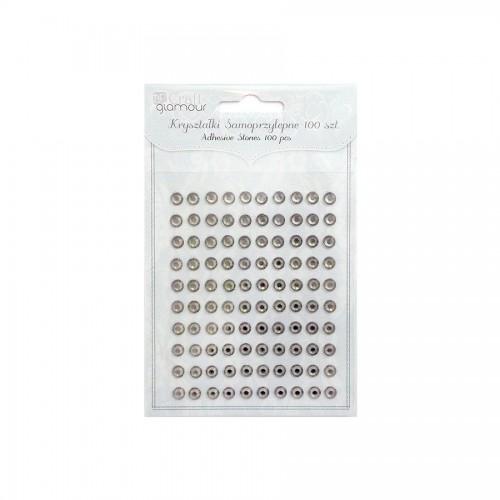 Adhesive Stones 6Mm,100Ps, Dalprint