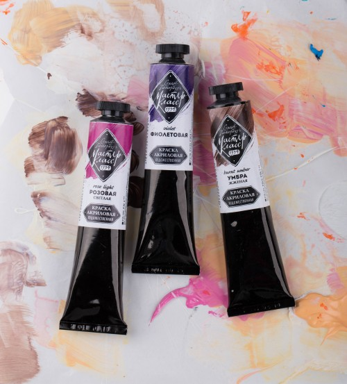 "Acrylic paints ""Master Klass"" 46 ml  St.-Peterburg"