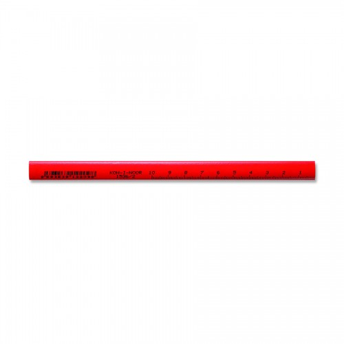 CARPENTER PENCIL SHORT 1536 2 RED