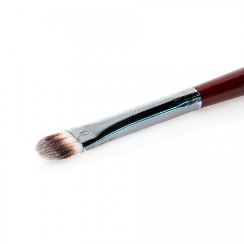 Parti-Colored Synthetic, Oval,Foundation Brush 08