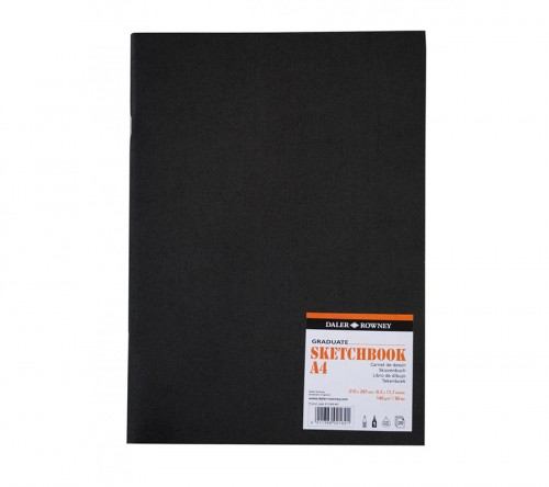 Graduate Matt. Sketch Book A4 Soft cover 140g,20 lh