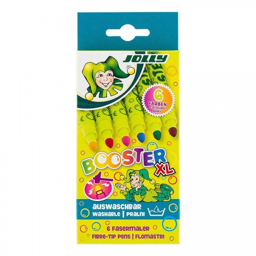 "Set Of Fibre Pens ""Jolly"" Booster Xl 62Pcs"