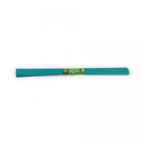 Crepe Paper 2000X500 Mm Green Blue