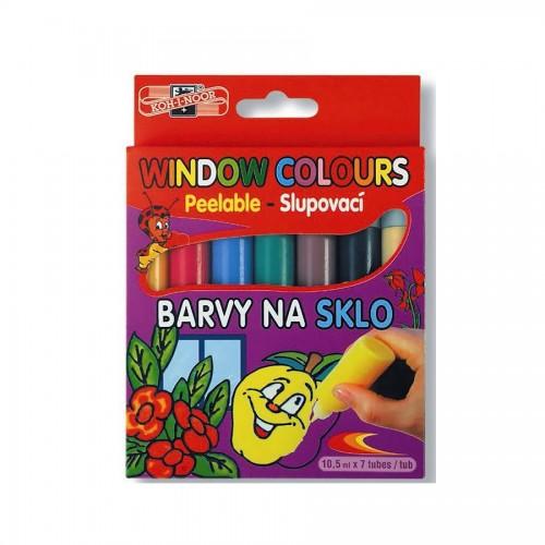 Set Of Windows Colours 7X10Ml  Koh-I-Noor