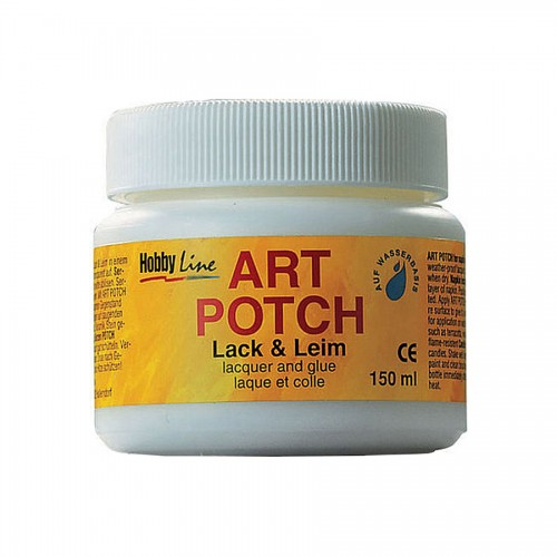 Lacquer + Glue 150Ml, Matt, Art Potch, C.Kreul