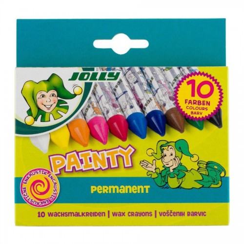 Set Of Wax Pastels 10Pcs