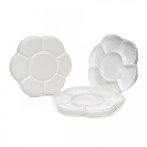 Plastic Palette 2Pcs/Set, 7Wells/Pc Dia: 18Cm