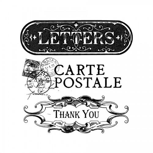 Clearacrilic  Stamp,Stamperia