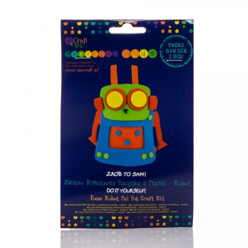 Robot Pal Pot Craft Kit