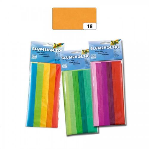 Tissue Paper,50X70Cm, 5 Maizeyellow